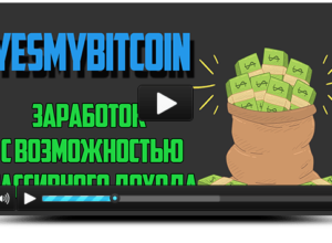 Проект Yesmybitcoin бинарный маркетинг с возможностью пассивного дохода